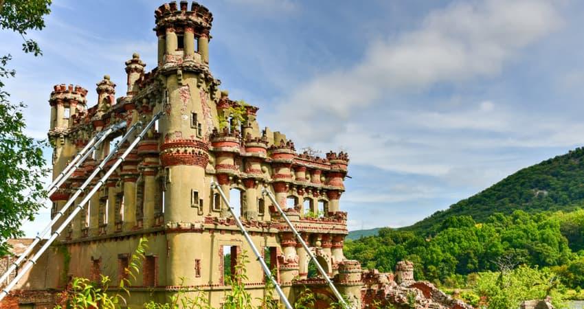 banermann castle on the lower hudson river