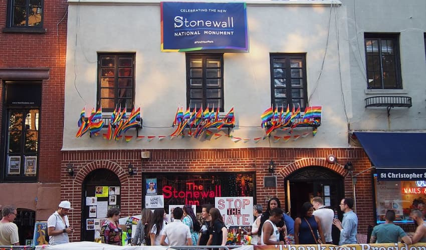 outside stonewall national monument