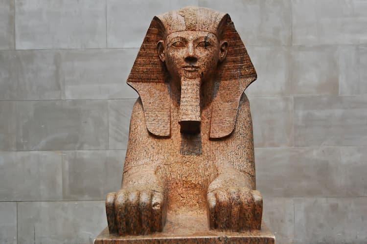 Sphinx at the Met