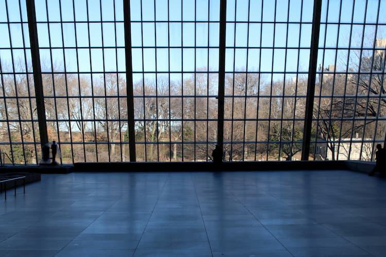 Interior hallway of the Met