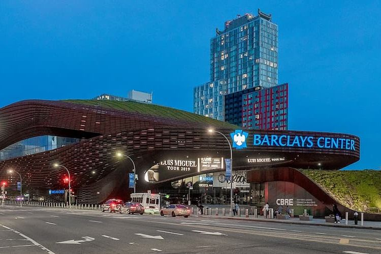 Barclays Center from the outside