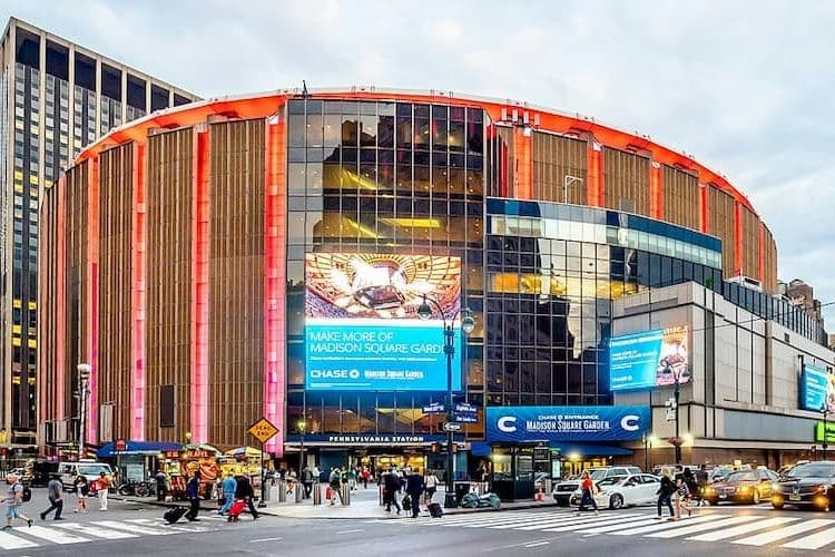 Madison Square Garden from the outside
