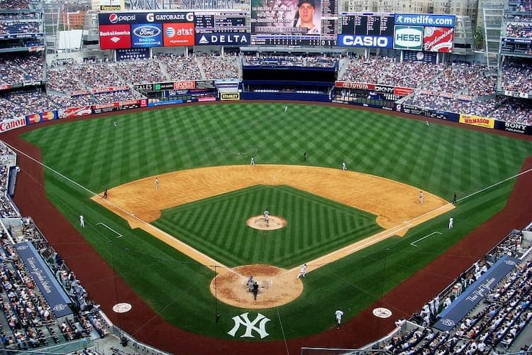 Yankee Stadium field