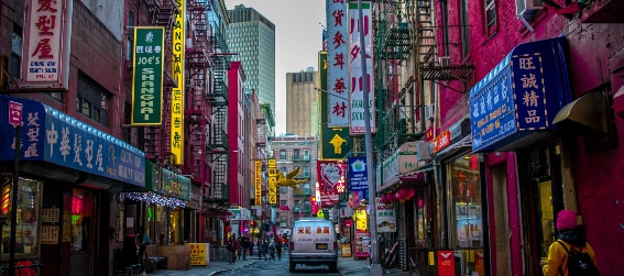 street in chinatown nyc