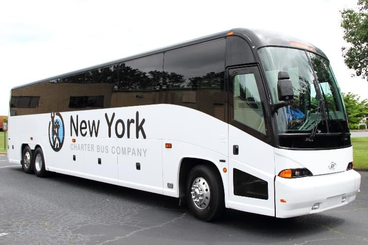 New york charter bus company bus image